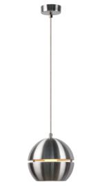 Hanglamp mat chroom