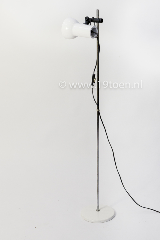 Vloerlamp vintage wit