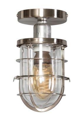 Plafondlamp 'Bully' chroom