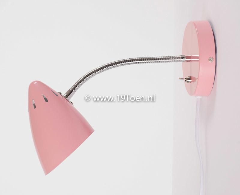 Wandlamp WQ Retro roze