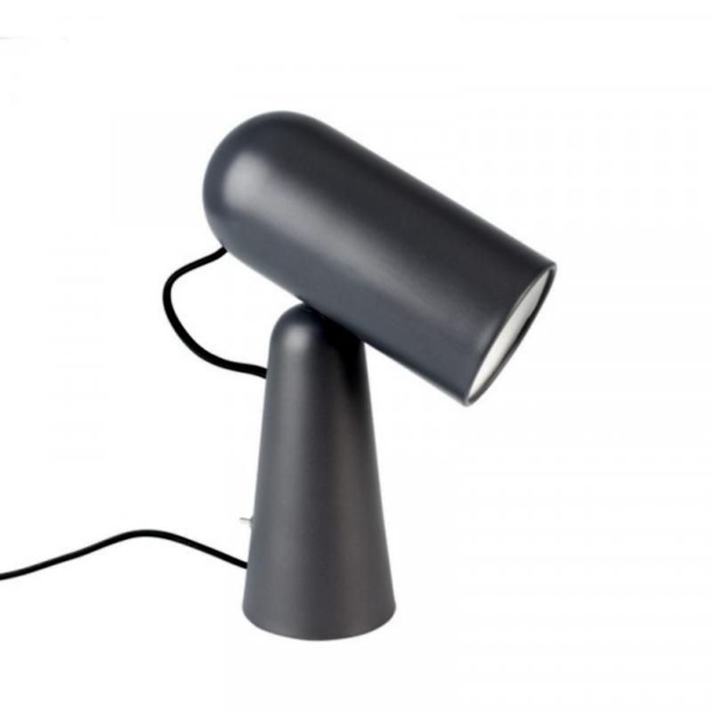 Tafellamp 'Magneet' d.grijs