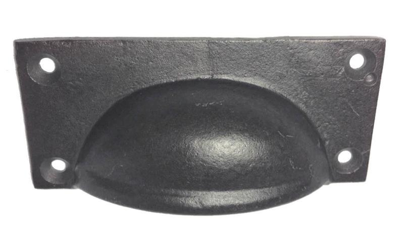 Komgreep donker metaal