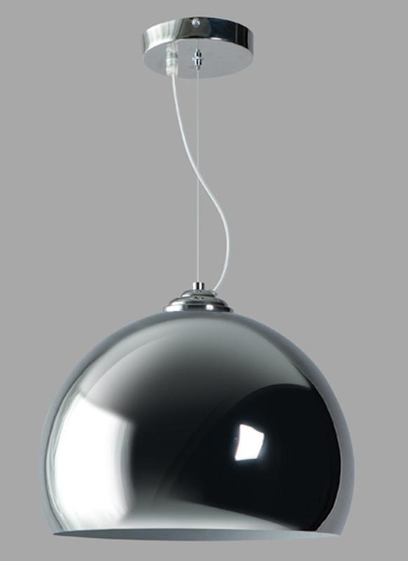 Hanglamp Emisfero chroom