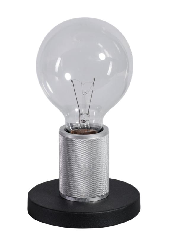 Tafellamp zwart/chroom