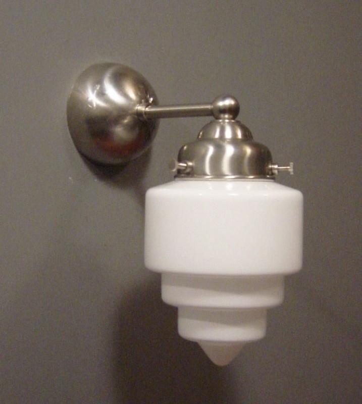 Wandlamp Recht + Trappunt