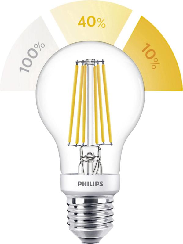 3-standen LED lamp helder 60w E-27