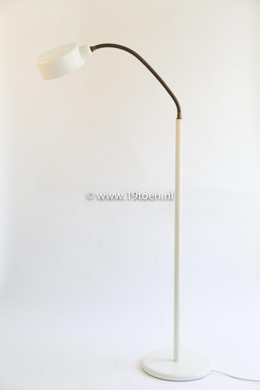 Vintage vloerlamp wit