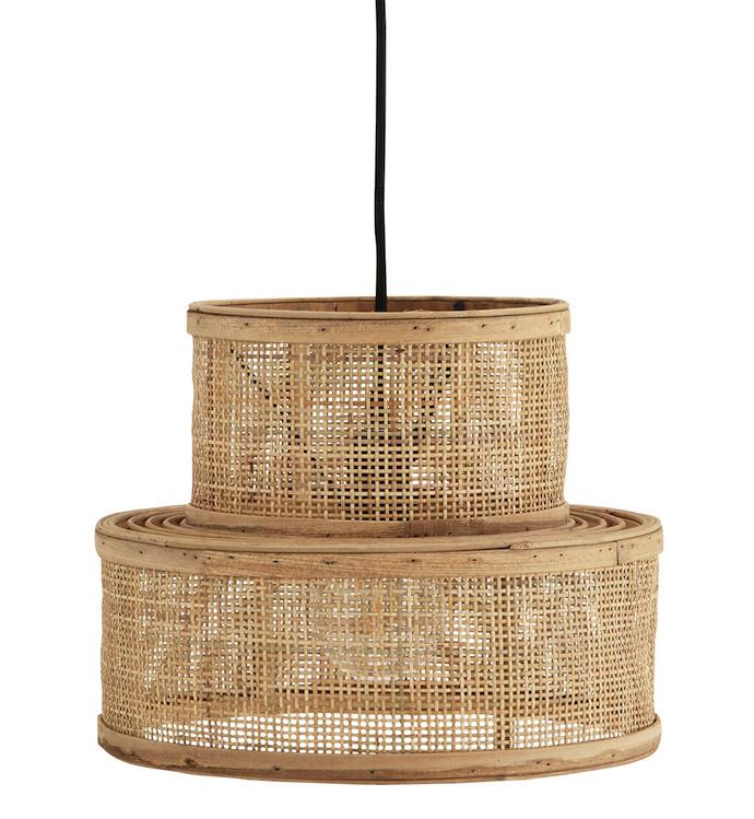 Rotan hanglamp Madam Stoltz