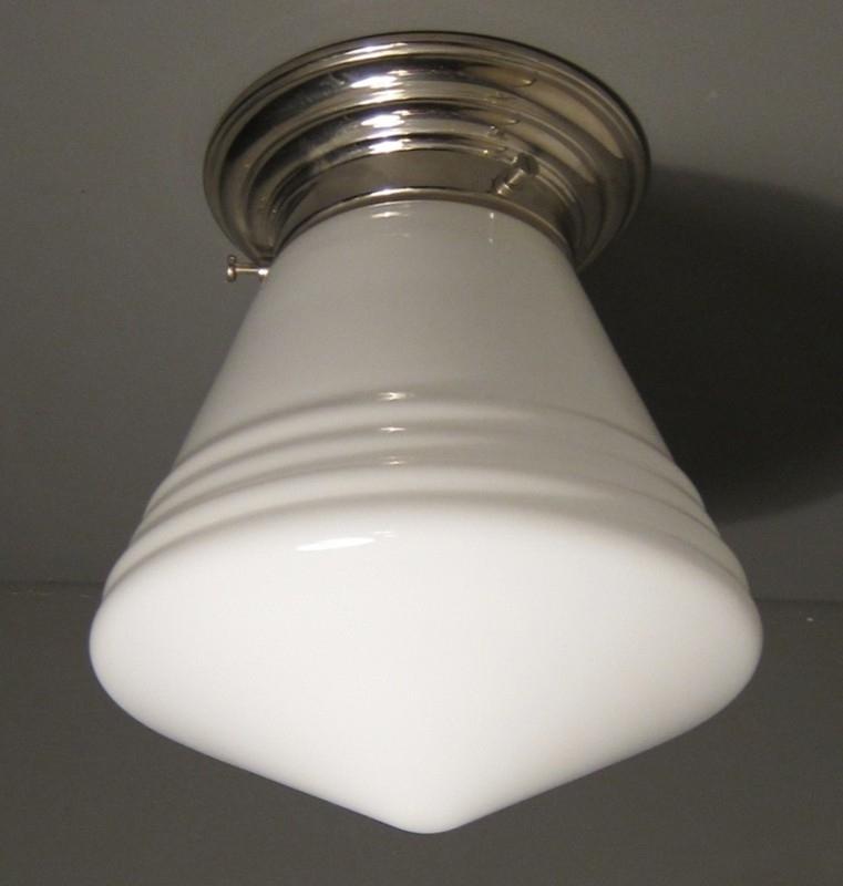 Plafonnière Luxe schoollamp S.