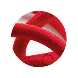 Textielsnoer rood