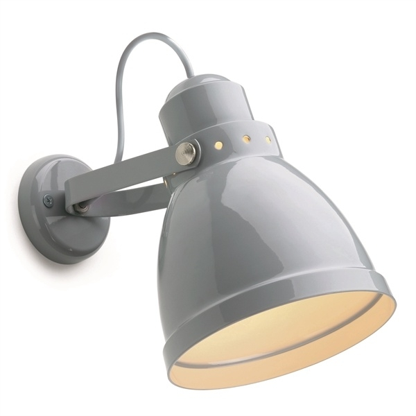 Plafond-/wandspot grijs