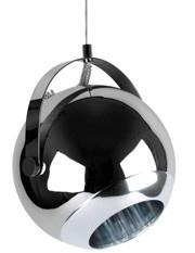 Hanglamp `Bebop` XL chroom