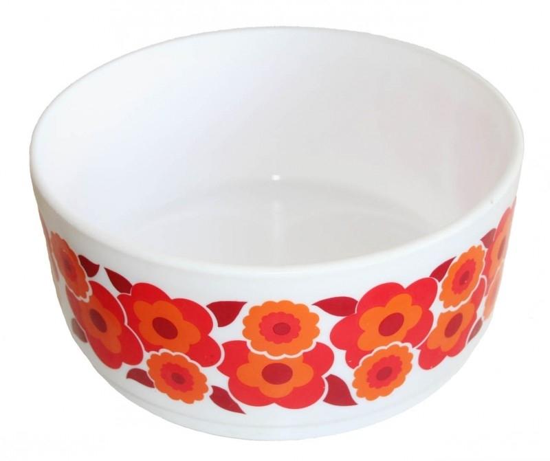 Arcopal schaal L Lotus oranje-rood