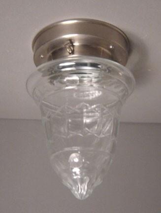 Plafonnière Helder glas