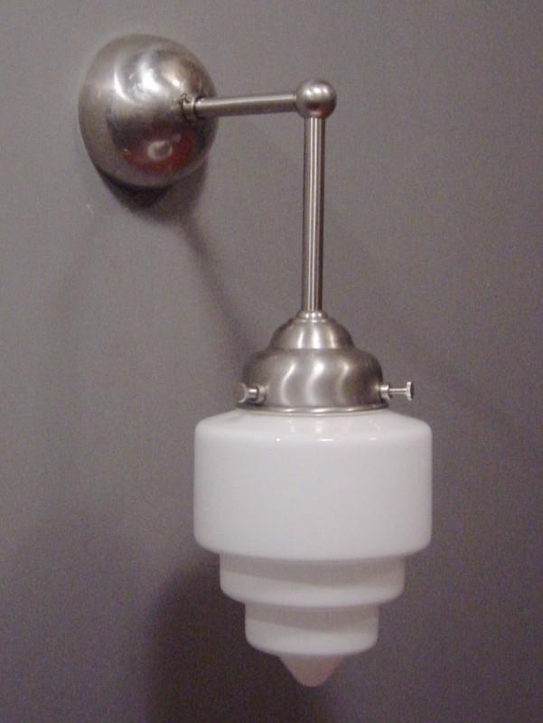 Wandlamp Haaks + Trappunt