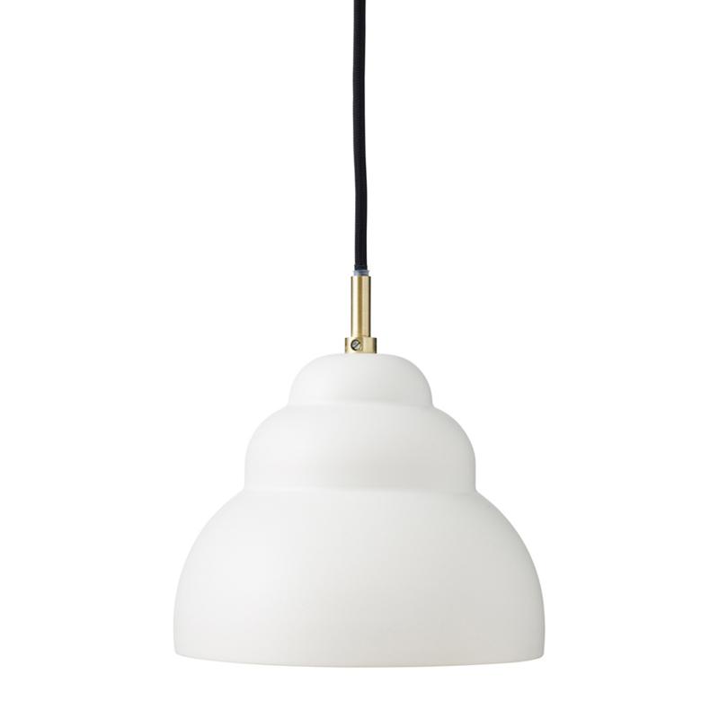 Hanglamp Bubble mat wit S