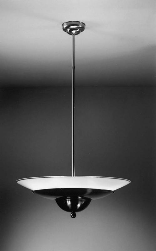 Hanglamp Wolk + schaal gezandstraald