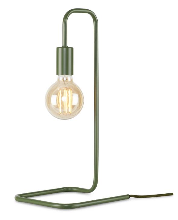 Tafellamp LONDON olijfgroen