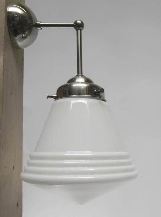 Wandlamp Haaks + Luxe schoollamp S.