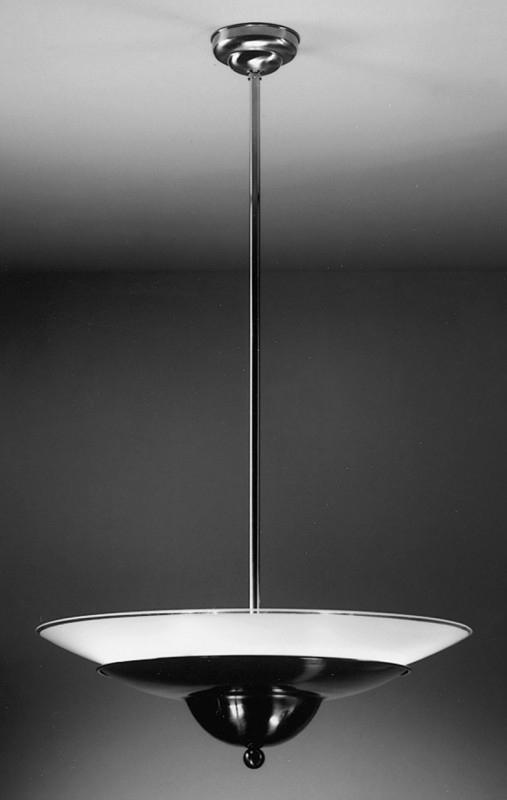 Hanglamp Wolk + schaal wit