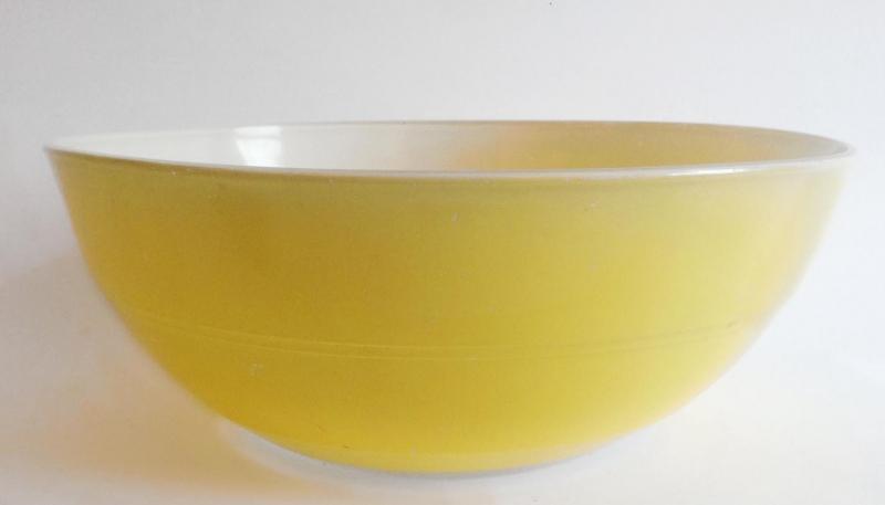 Duralex schaal geel D27,5