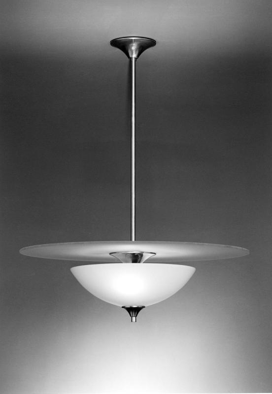 Hanglamp Volle Maan glas