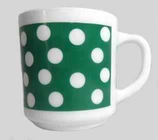 Arcopal mok groen Dots
