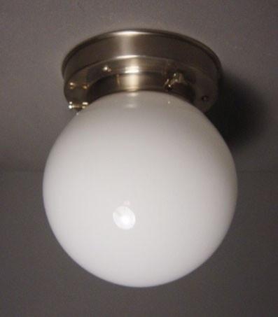 Plafonnière Bol opaal 15 cm