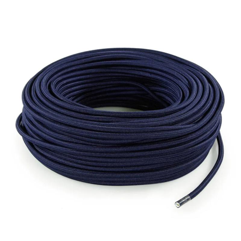 Textielsnoer d.blauw