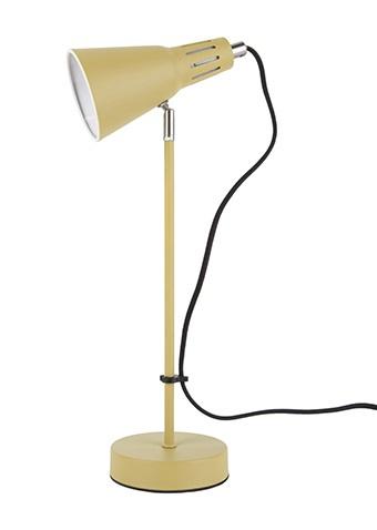 Tafellamp mosterd-geel