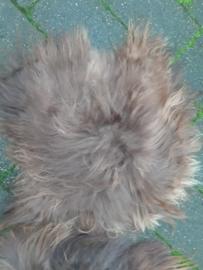 ijslandse stoelpads bruin