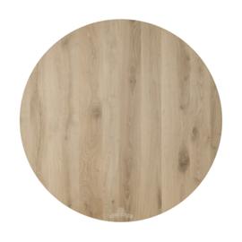 Nieuw eiken tafelblad rond 40cm tot 180 cm doorsnede