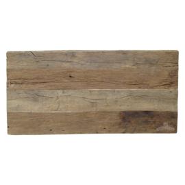 Ruig eiken horecatafel , 70x70 cm en 80 x 80 cm