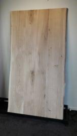 Nieuw eiken tafelblad met boomstamrand 180x90x4cm