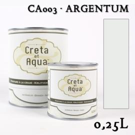 Krijtverf Creta et Aqua Argentum - Zilver