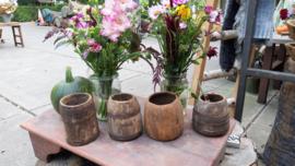 nepalese houten pot