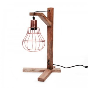 Tafellamp Drop Koper