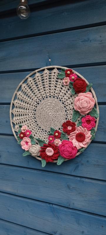 bloemen krans rose
