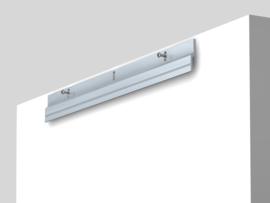 Z-bar 45cm compleet (2x bar + screw/plugs) max. 25 kg