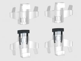 Display paneelhanger set