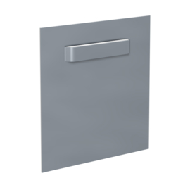 Spiegel Glas PVC Dibond hanger vierkant 45mm tot 1 kilo