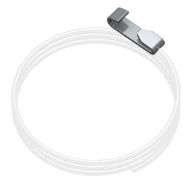 Perlon met easy-cliq 150cm. (max. 7 kg)