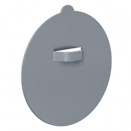 Spiegel Glas PVC Dibond hanger rond 42mm tot 0,5 kilo