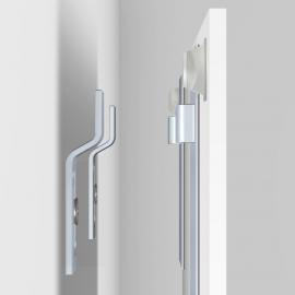 Spiegel Glas PVC Dibond hanger 100 bij 200mm tot 10 kilogram