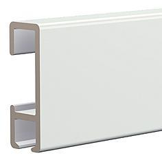 Schilderij ophangsysteem XL 200cm wit (max. 20kg/m1)