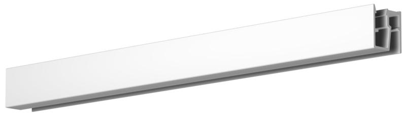 Newly R40 UP RAIL 200cm wit (max. 20Kg per meter)