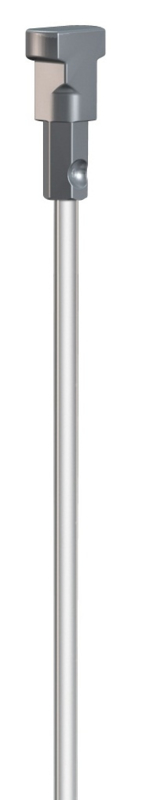 Perlonkoord met Twister 100cm. (max. 20 kilo)