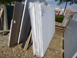 Maatwerk Bianco Carrara type C in 3 cm dik  296x155 cm