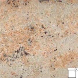 Vloertegel graniet Kashmir Gold geel goud 40 cm banen mat gevlamd en geborsteld Prijs per m2