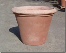 Potten: Vaso Liscio M 256  hoog 57 cm